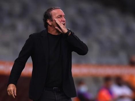 "Cuca, DT de Mineiro que supo eliminar a Boca: ""Es un 50% para cada uno"""