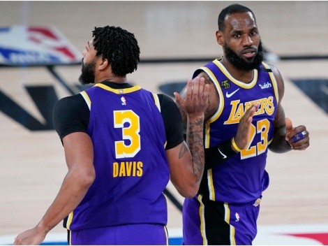 LeBron James has terrible news for the Lakers about Anthony Davis
