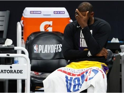 El gesto de LeBron James en la temporada pasada que enfureció a Los Angeles Lakers
