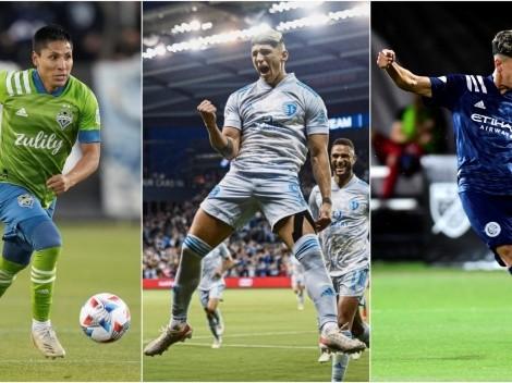 Los delanteros que acechan a Chicharito en tabla de goleo en MLS