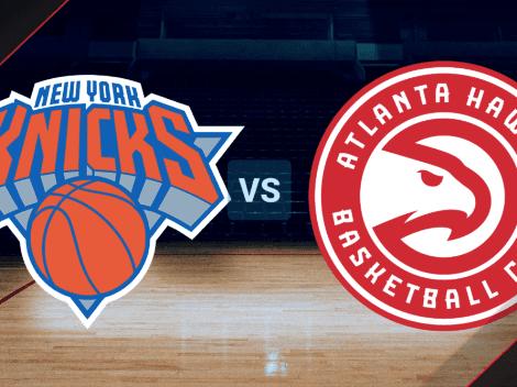 JUEGO 5 | Ver ONLINE New York Knicks vs Atlanta Hawks EN VIVO por los NBA Play-Offs: horario, canal de TV y streaming