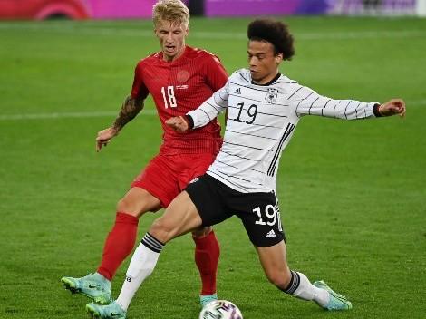 Alemania y Dinamarca no se sacaron ventajas en la previa de la Eurocopa