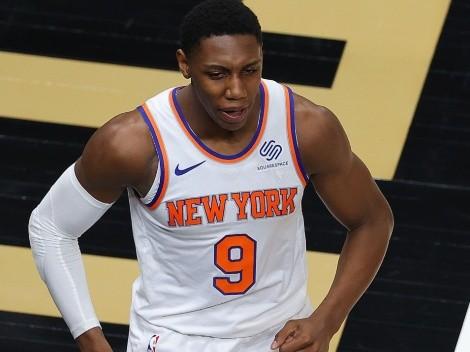 NBA Playoffs 2021: RJ Barrett le responde a un periodista previo al duelo entre Knicks y Hawks