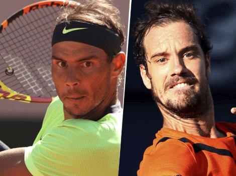 Sigue EN VIVO ONLINE Rafael Nadal vs. Richard Gasquet   TV y Streaming para seguir EN DIRECTO el choque por el Roland Garros