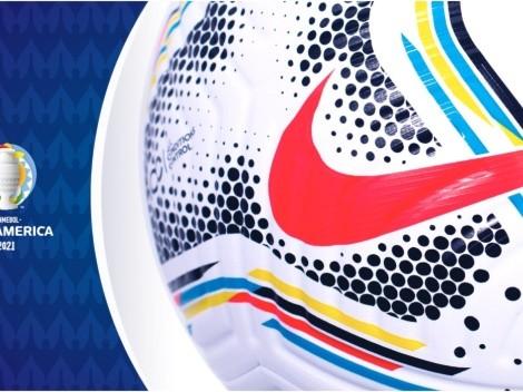 Hermoso: así es el balón con el que se disputará la Copa América 2021