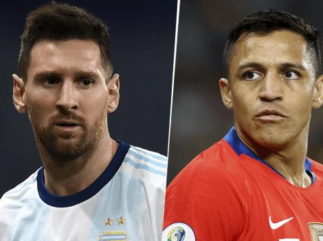RESULTADO FINAL: Argentina 1 vs. Chile 1 por las Eliminatorias con los goles de Lionel Messi y Alexis Sánchez