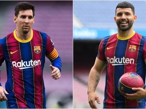 Renovación de Messi con Barcelona lo colocaría en Inter Miami junto a Agüero