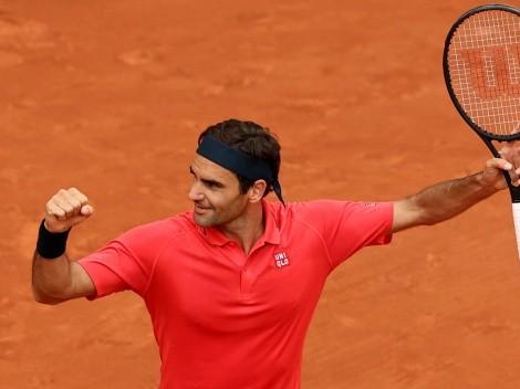 Roger Federer venció a Marin Cilic y se instaló en tercera ronda de Roland Garros