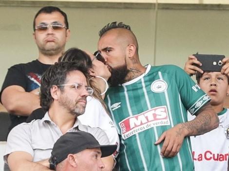 Vidal pasa de hinchar por la Selección Chilena a concentrarse en Rodelindo Román