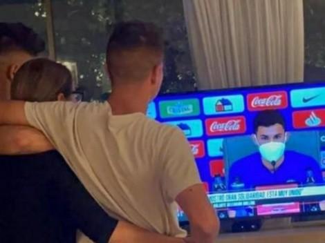 """""""Más orgulloso que la CTM"""": Benja y Thomas Galdames felices por Pablo"""