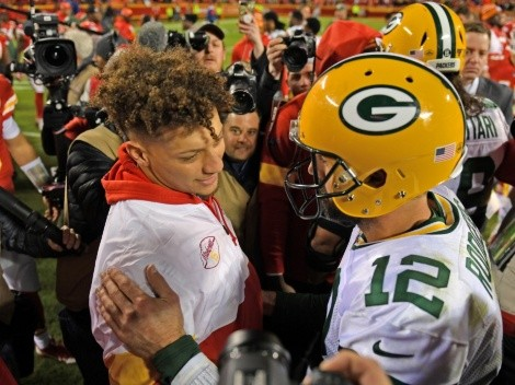 Patrick Mahomes da señales sobre el futuro de Aaron Rodgers en NFL