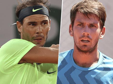 Qué canal transmite Rafael Nadal vs. Cameron Norrie por el Roland Garros