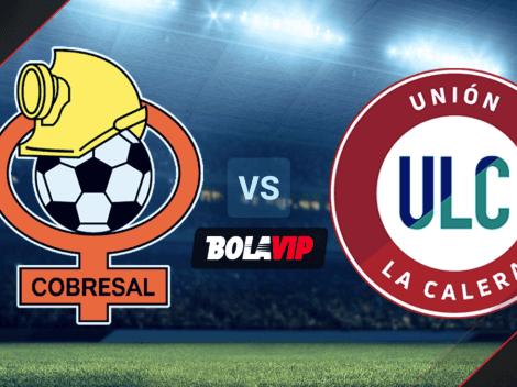 Qué canal transmite Cobresal vs. Unión La Calera por la Primera División de Chile