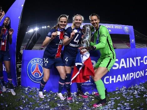 Christiane Endler se corona campeona de Francia con el PSG