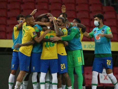 Brasil sigue imparable en las Eliminatorias a Qatar 2022
