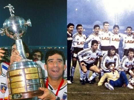 Colo Colo conmemora 30 años de aniversario de la Copa Libertadores