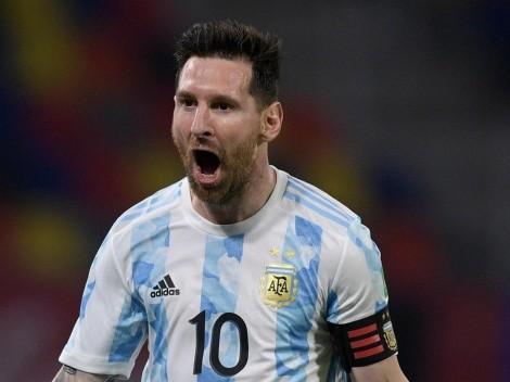 El récord goleador que Lionel Messi posee con la Selección Argentina