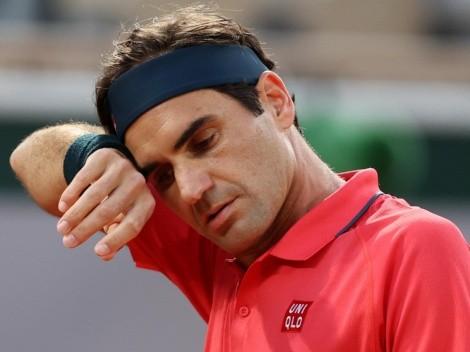 Roger Federer acusó cansancio y se bajó de Roland Garros