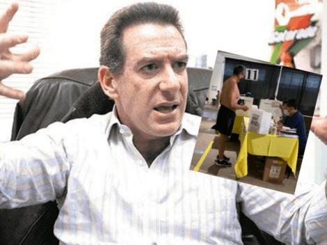 """""""No lo dejaron votar con la camiseta de la Selección Peruana"""": Eddie Fleischman denuncia abusos"""