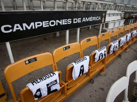 Colo Colo estrena los asientos vitalicios para sus campeones de Copa Libertadores