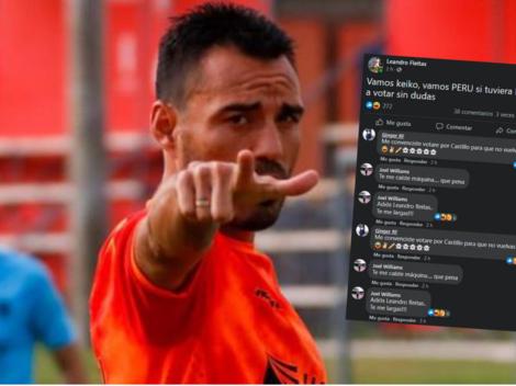 """Si tuviera DNI iría a votar. Vamos Keiko"": Leandro Fleitas desata polémica en redes sociales"