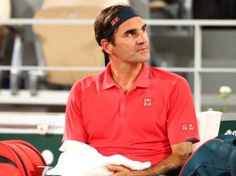 Roger Federer se bajó del Roland Garros