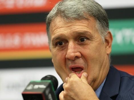 Primer fracaso de Gerardo Martino al frente de la Selección Mexicana