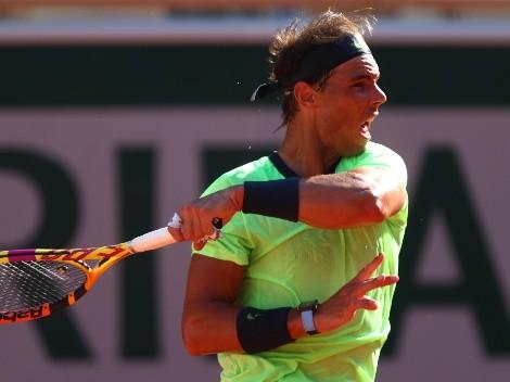 Rafael Nadal venció a Jannik Sinner y se instaló en cuartos de final de Roland Garros