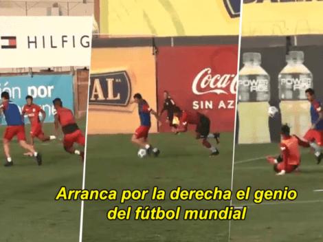 Gianluca Lapadula comparado con Diego Armando Maradona por golazo ante Pedro Gallese