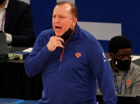 ¡Otra vez los Knicks! Tom Thibodeau, coach del año en la NBA