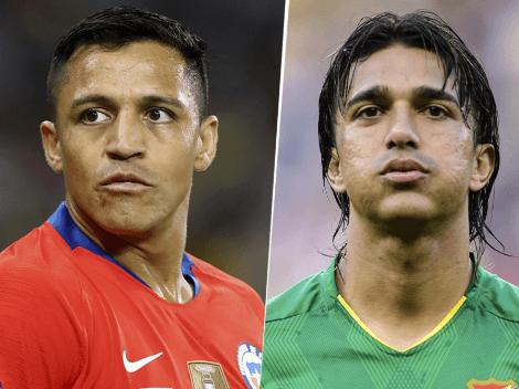 Chile y Bolivia empataron 1-1 por la fecha 8 de las Eliminatorias Sudamericanas