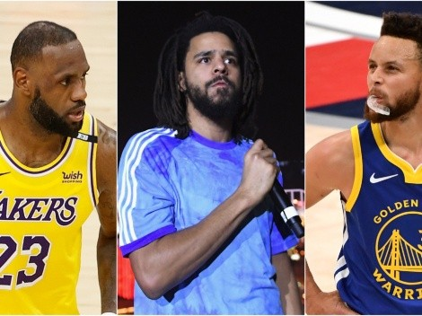 J-Cole cursed every NBA player name-dropped in The Off-Season