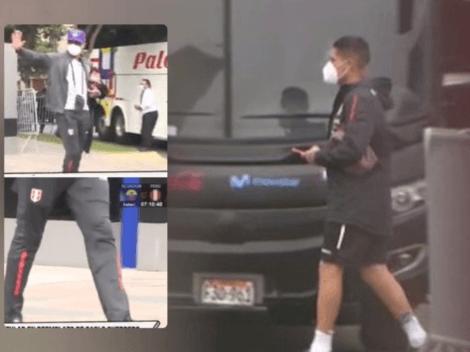 Paolo Guerrero viajó a Ecuador a pesar de tener complicada cojera