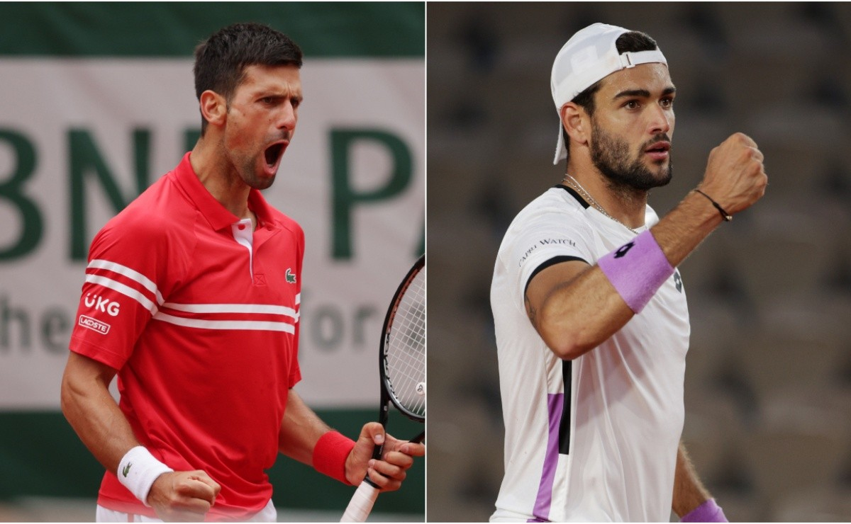 Novak Djokovic vs Matteo Berrettini: Predictions, odds and how to watch  2021 French Open in the US today