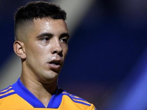 Leo Fernández se presentó a estudios con Tigres UANL