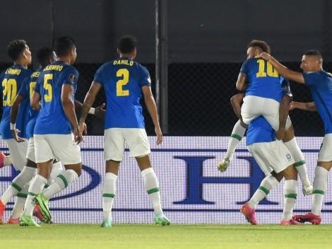 Intervalo de jogo: Paraguai 0x1 Brasil; veja o resumo e as estatísticas da primeira etapa