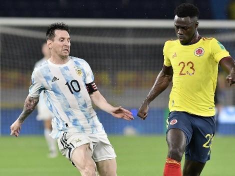 Colombia rescata un empate agónico sobre Argentina