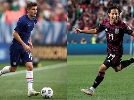 Christian Pulisic y Diego Lainez encabezan 11 Ideal de Liga de Naciones Concacaf