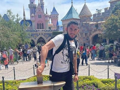 Como todo un Campeón: Jesús Corona disfruta sus vacaciones en Estados Unidos