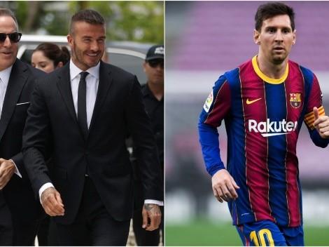 Dejó de ser un rumor: Inter Miami de David Beckham confirma charlas con Lionel Messi