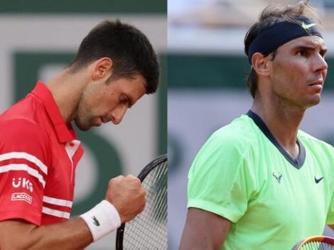 Novak Djokovic vs. Rafael Nadal: Cómo ver EN VIVO en Chile el partido de Roland Garros 2021