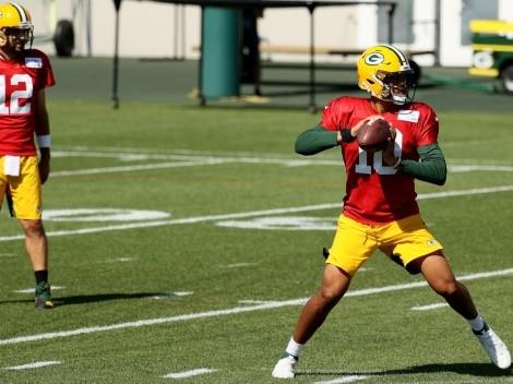 En Green Bay Packers ya preparan a Jordan Love ante ausencia de Aaron Rodgers