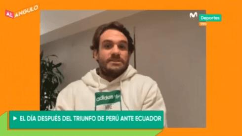 Michael Succar es uno de los panelistas de Movistar Deportes.