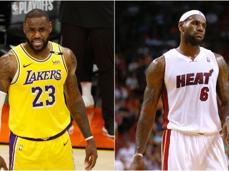LeBron James no. 23 vs LeBron James no. 6: Which was the best?