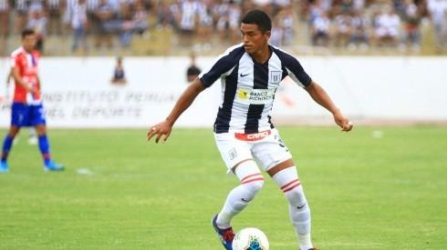 Kluiverth Aguilar fue el lateral de Alianza durante el 2020.