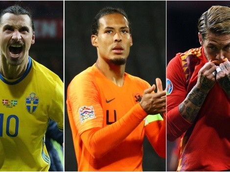 Euro 2020: Star players who will miss the UEFA European Championship