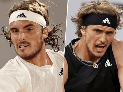 Qué canal transmite Stefanos Tsitsipas vs. Alexander Zverev por el Roland Garros