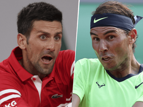 Qué canal transmite Novak Djokovic vs. Rafael Nadal por el Roland Garros