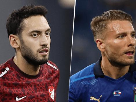 Italia goleó a Turquía 3-0 en el partido inaugural de la EURO 2020