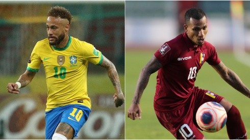 Brazil and Venezuela will clash in the opening game of Copa America 2021 (Getty).